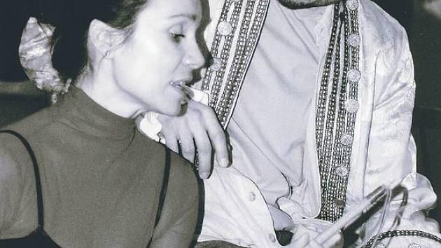 Pavlína Kafková a František Strnad