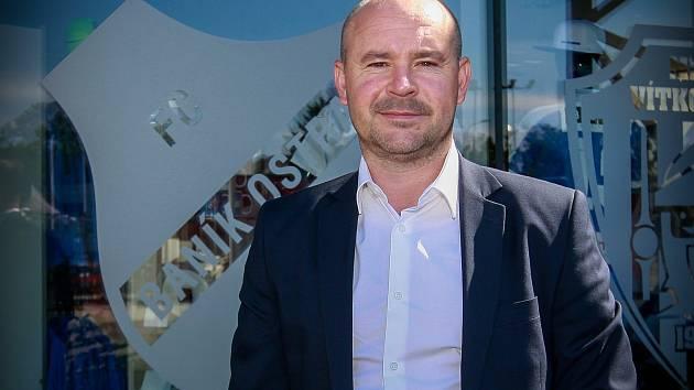Martin Rak - obchodní a marketingový ředitel FC Baník Ostrava Martin Rak