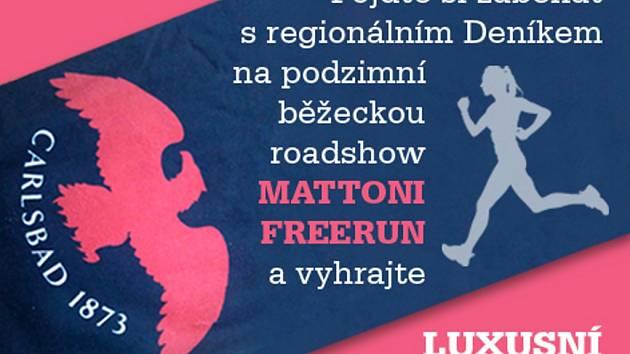 MATTONI FREERUN: Startuje podzimní běžecká roadshow.