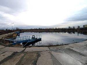 Laguna v areálu Ostrava
