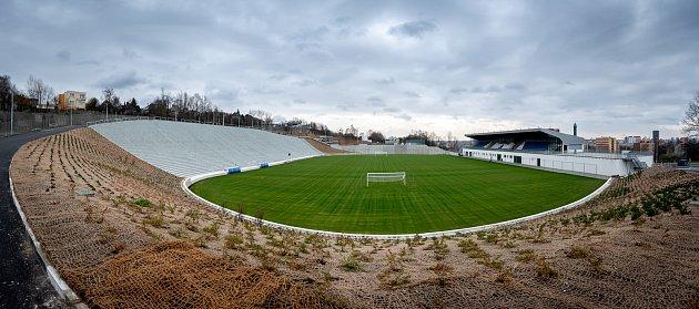 Slavnostní otevření stadionu Bazaly, 2.prosince 2019vOstravě.