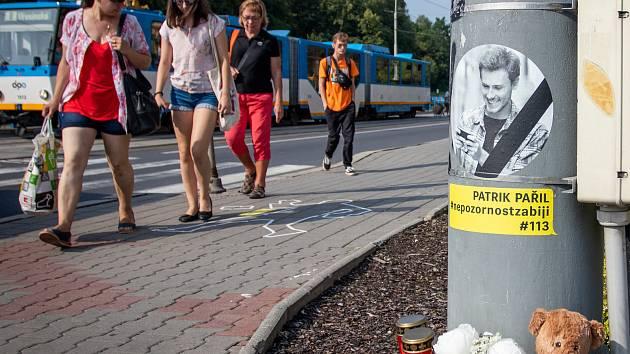 Kampaň Nepozornost zabíjí, 24. srpna 2019 v Ostravě.