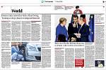 Světové média kde byla fotografie ze střelby ve FNO, noviny zde dne 11. prosínce 2019. Na snímku britské noviny The Guardian.