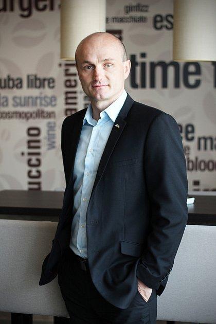 Předseda krajské sekce Asociace hotelů a restaurací pro Moravskoslezský kraj Petr Frýdl.