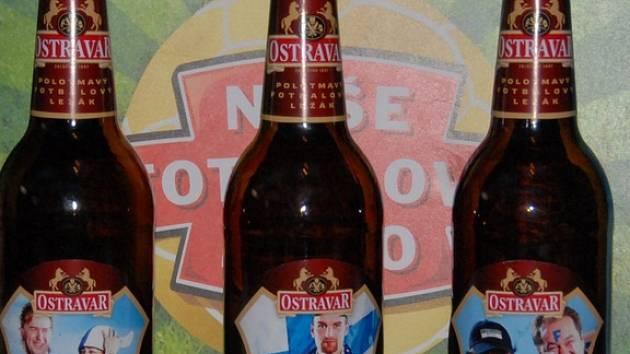 Bazal - nové fotbalové pivo z Ostravaru bude mít zcela unikátní etiketu, na které se objeví fotbaloví fanoušci.