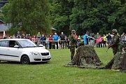 Army Family Day v areálu Landek Parku v Ostravě.