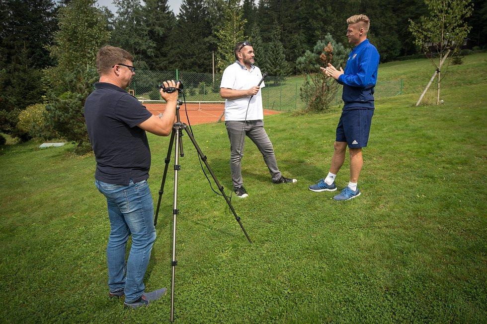 Příprava Baníku v Beskydech. Snímek z 5. září 2018 na Čeladné.