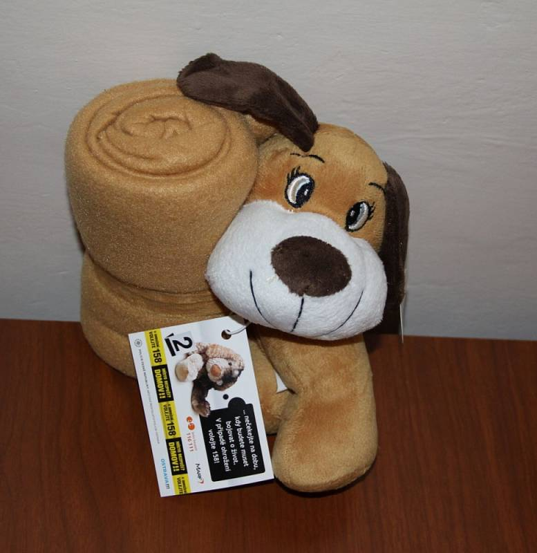 Dětem, které jsou často svědky domácího násilí, policisté zajistili plyšové hračky.