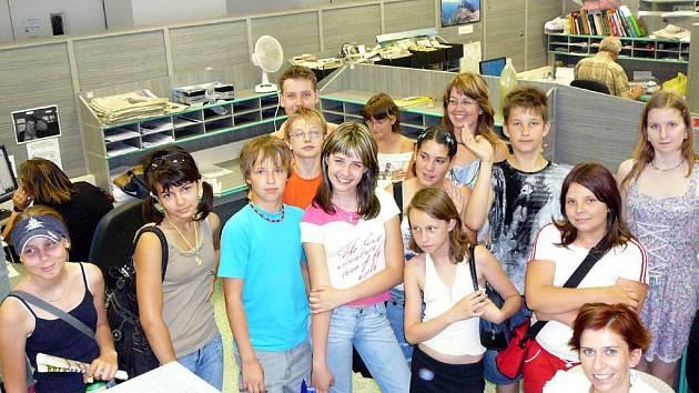 Exkurze dětí ze ZŠ Březinova