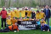 Mladí fotbalisté z Tošanovic se stali vítězi okresního poháru.