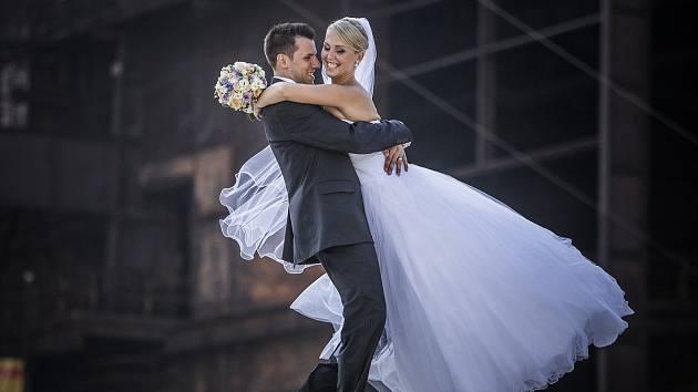 Kristýna a Jakub Šiřinovi, 26. 7. 2014, Ostrava