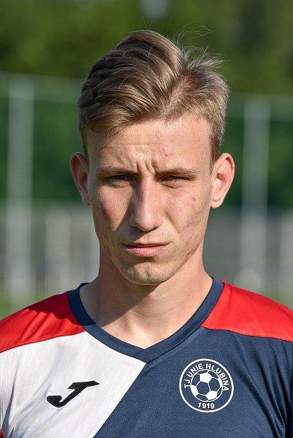 Fotbalový klub TJ Unie Hlubina, 7.srpna 2020vOstravě. Miroslav Tóth, záložník