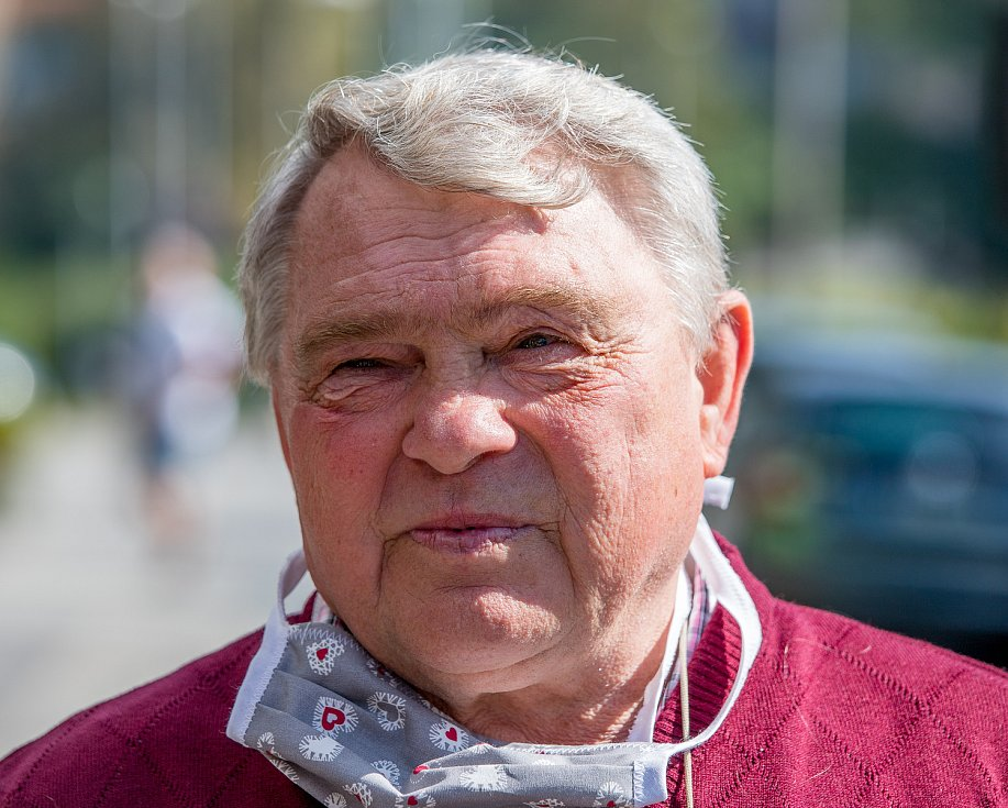 Ocenění Vítězslava Máchy (uvedení do síně slávy světové organizace), 19. září 2020 v Ostravě. Vítězslav Mácha.