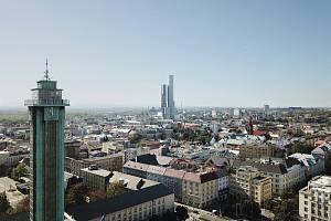 Ostrava Tower!!! Takto by měl vypadat nový ostravský mrakodrap a nejvyšší stavba tohoto typu u nás. Definitivní podoba bude známa asi za měsíc.