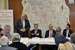 Smyslem setkání, symbolicky konaného přímo na česko-polské hranici, byla především společná podpora projektu vybudování vodního díla, kanálu Dunaj-Odra-Labe.