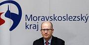 Premiér České republiky Bohuslav Sobotka.