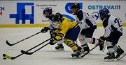 Olympijský festival v Ostravě, 12. února 2018. Hokejové utkání mezi Vítkovicemi a Kopřivnicí