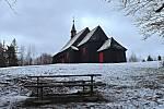 Iva Žídková putuje zimními horami: Kostel sv. Antonína na Prašivé