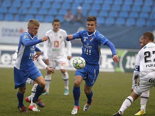 Snímky z utkání FC Baník - Hradec Králové.