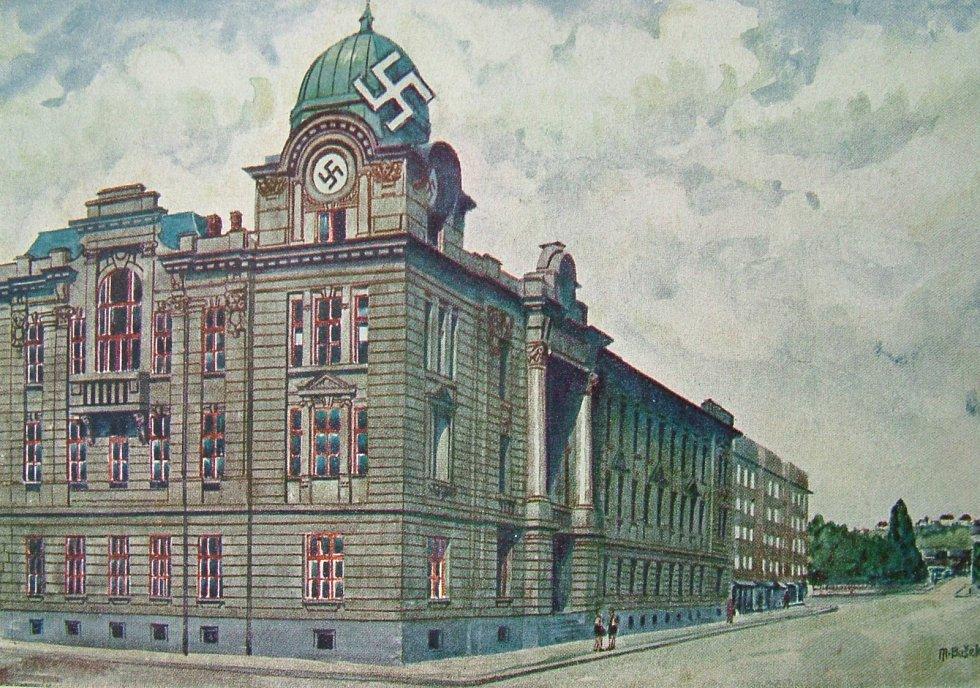 Nejhorlivějšími spolupracovníky gestapa byli studenti ostravského německého gymnázia.