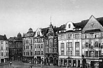 Moravská Ostrava, náměstí.