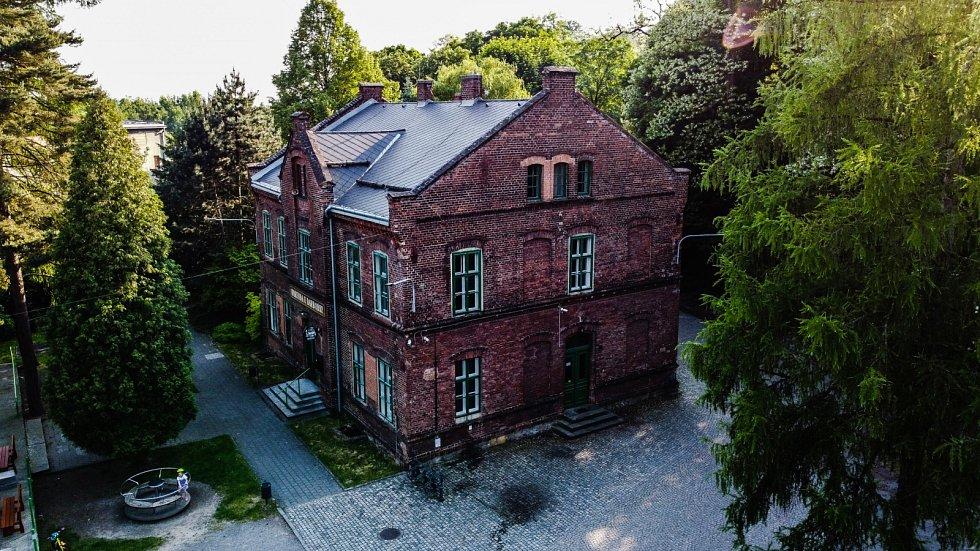 Hornické muzeum Landek Park.