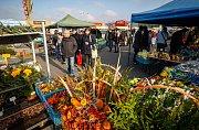 Farmářské trhy v Ostravě u Futura.