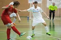 Futsalové utkání Ostrava - Jeseník.