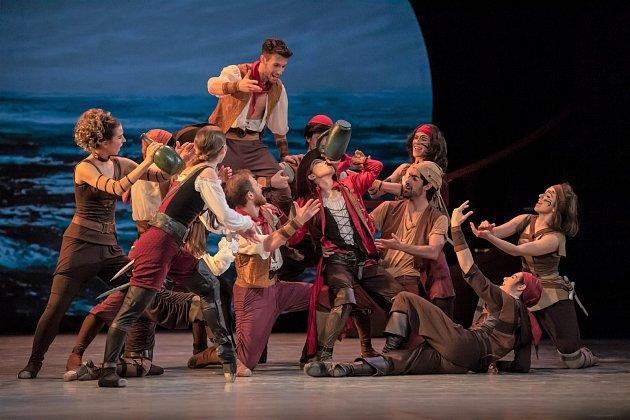 Národní divadlo moravskoslezské uvedlo balet Korzár.