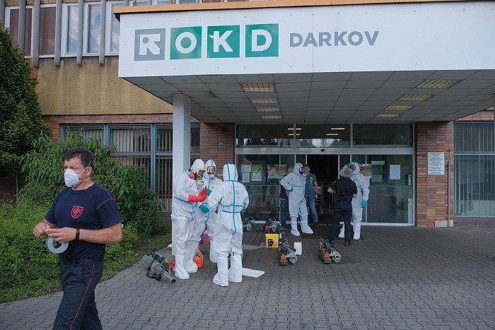 Dekontaminace Dolu Darkov.