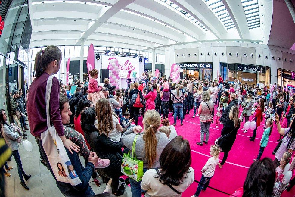 Oslava 60 let Barbie, obchodní centrum Nová Karolina, 9.březen 2019 v Ostravě.