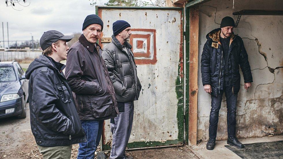 Snímek z natáčení třetího dílu seriálu Místo zločinu Ostrava.