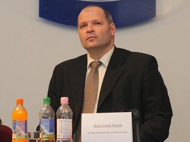 Šéf chirurgie Městské nemocnice Ostrava Tomáš Mrázek