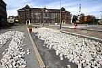 Oprava vítkovického náměstí Jiřího z Poděbrad má být dokončena již letos v prosinci.