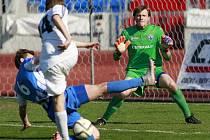 24. kolo třetí ligy MFK Vítkovice - HFK Olomouc 2:0 (1:0)