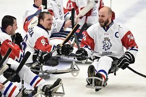 Mistrovství světa v parahokeji: ČR - Itálie, 30. dubna 2019 v Ostravě, 30. dubna 2019 v Ostravě.