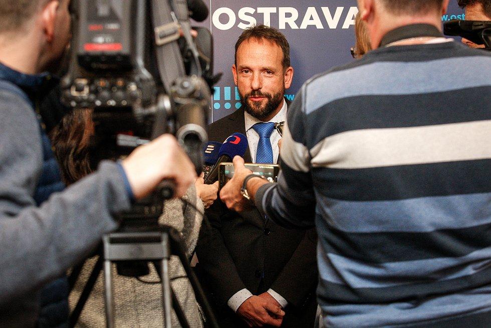 Primátor Ostravy Tomáš Macura.