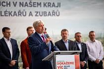 V Ostravě v Dolní oblasti Vítkovice se 4. září 2020 uskutečnila tisková konference k zahájení předvolební kampaně ČSSD do zastupitelstva Moravskoslezského kraje.