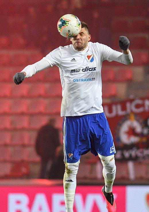 Patrizio Stronati - Čtvrtfinále MOL Cup AC Sparta Praha - FC Baník Ostrava, Generali Česká pojišťovna Aréna, Praha, 4. března 2020.