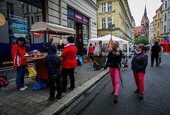 Sousedské slavnosti v centru Ostravy.