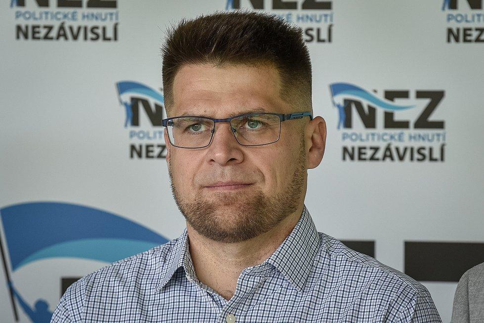 Do podzimních krajských voleb vstoupí nová koalice STAN, Zelení a Nezávislí. Na snímku Michal Berk (Zelení).
