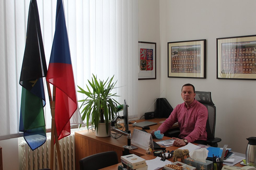 Starosta Ostravy-Vítkovic Richard Čermák.