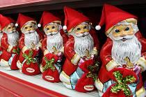 Do některých ostravských obchodů dorazily Vánoce s předstihem už teď v říjnu.
