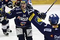 Extraligové utkání HC Vítkovice Steel - HC ČSOB Pojišťovna Pardubice.
