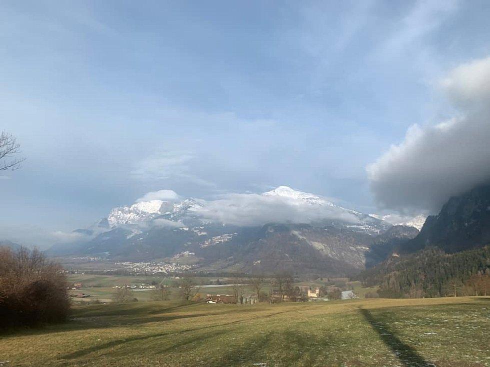 Soňa Nováková se vydala trochu dál, konkrétně do Zitzeru (Švýcarsko).