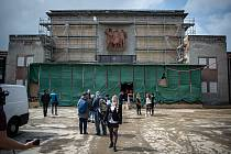 Prohlídka DK Poklad v Porubě, 3. června 2020 v Ostravě.