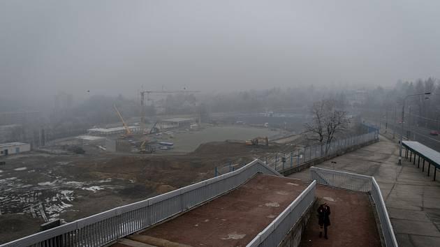 Smogová situace v Ostravě - Ilustrační foto.