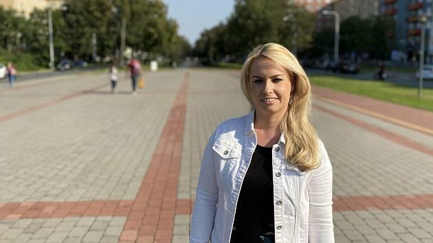 Starostka městského obvodu Ostrava-Poruba Lucie Baránková Vilamová.
