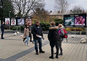 Protipotratový happening v Ostravě