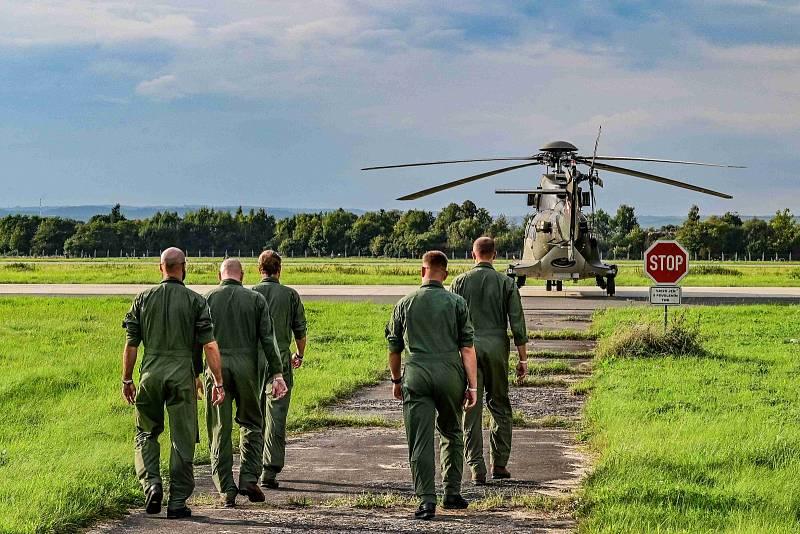 Příprava na Dny NATO objektivem Jiřího Barana.